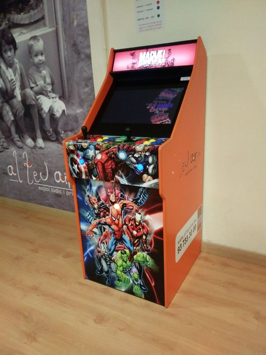 arcade sala para fiestas en montigalà