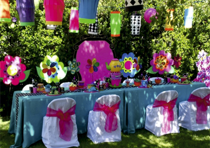 decoracio tematica jardi