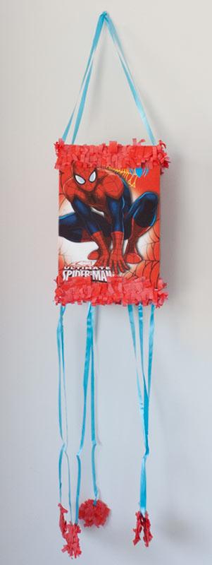 Piñata Spiderman fiesta de cumpleaños