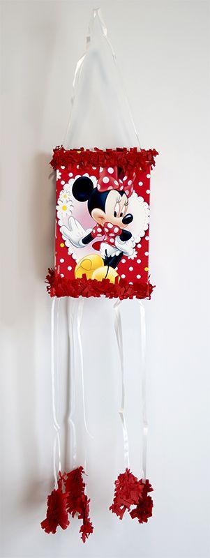 pinyata minie mouse per festes amb nens