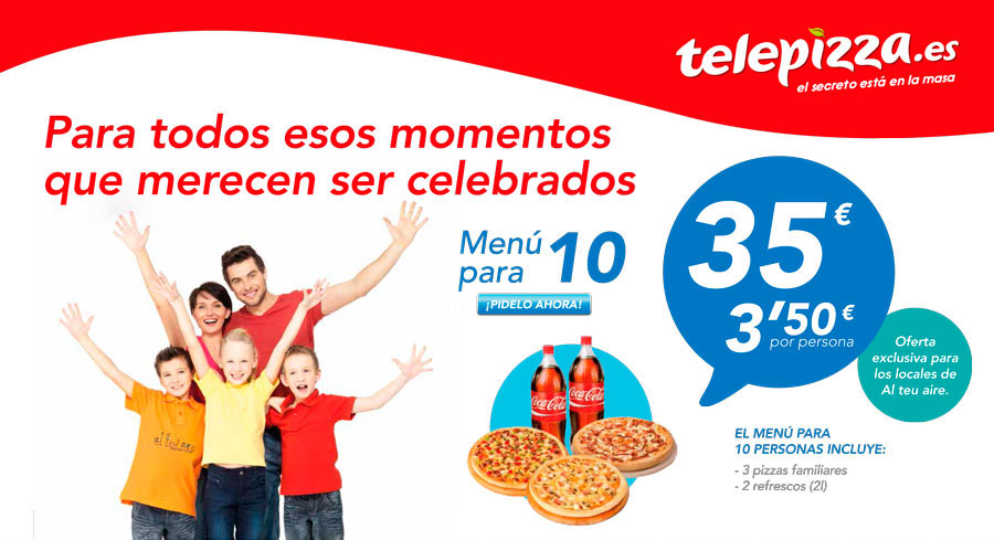 alteuaire - telepizza