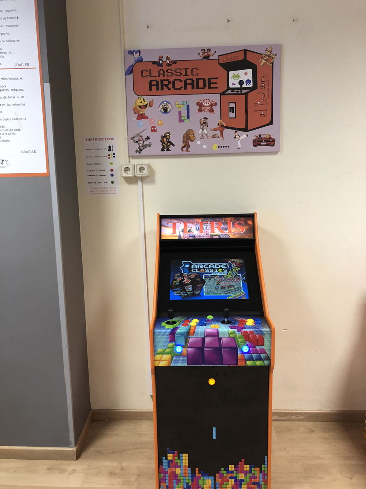 maquina arcade alteuaire sant feliu