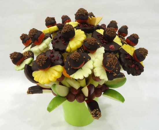 ram de fruita jardi xocolata