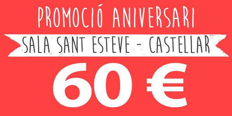 promocio festes infantils 60 euros castellar alteuaire