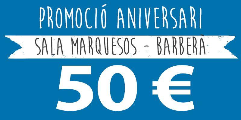 promocio festes infantils 50 euros barberà