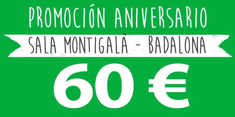 promocion 60 euros alteuaire montigala