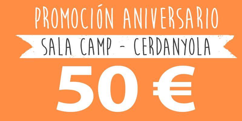 promocion aniversario 50 euros cerdanyola