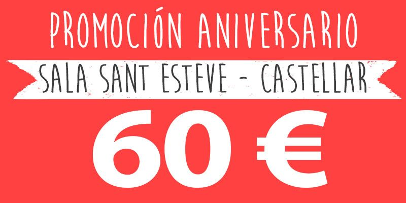 promocion fiestas infantiles 60 euros castellar alteuaire