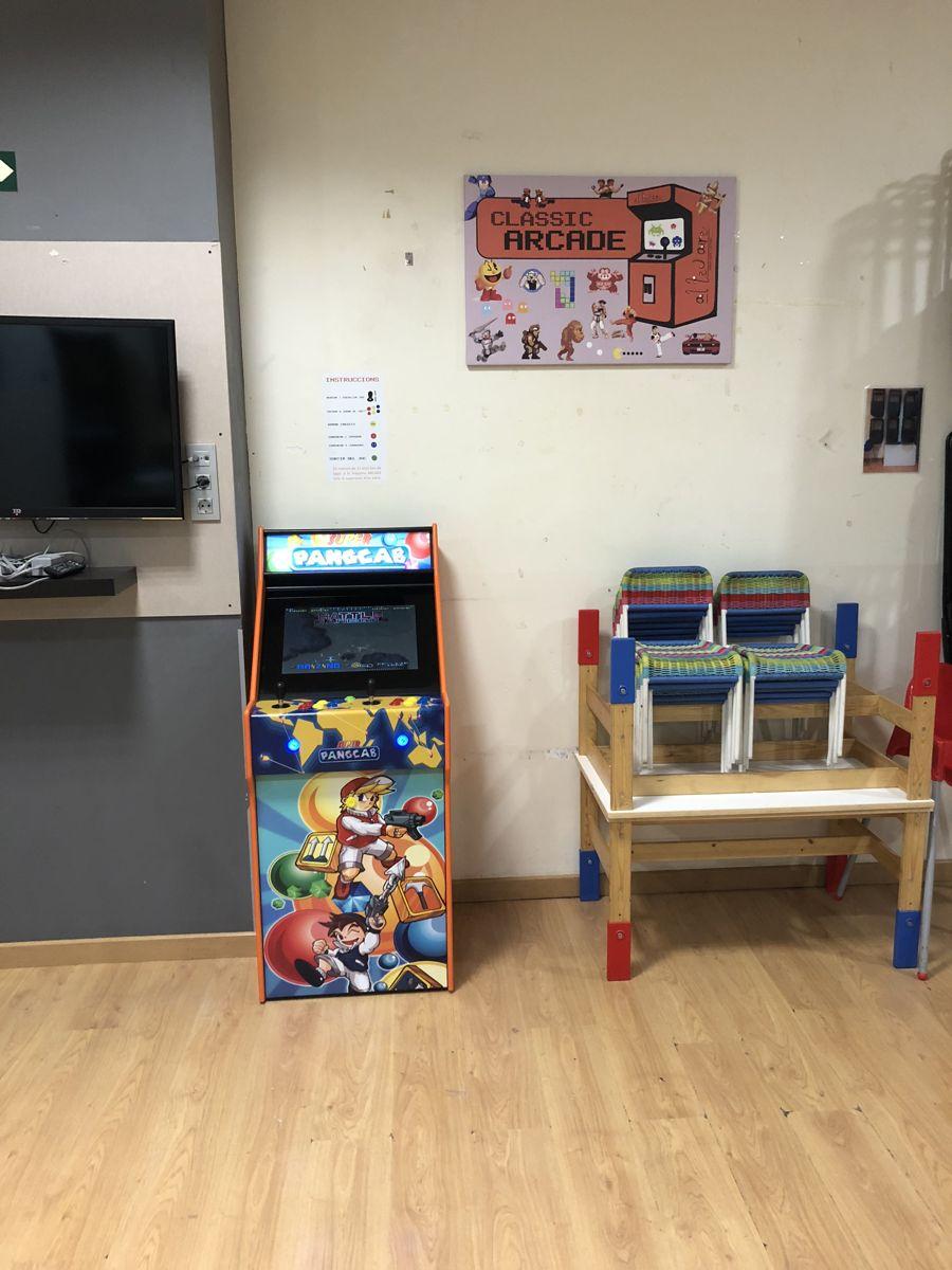 máquina arcade videojuegos
