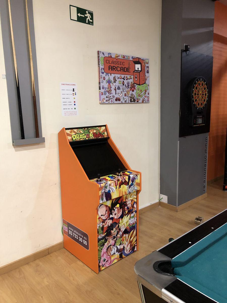 maquina videojuegos arcade