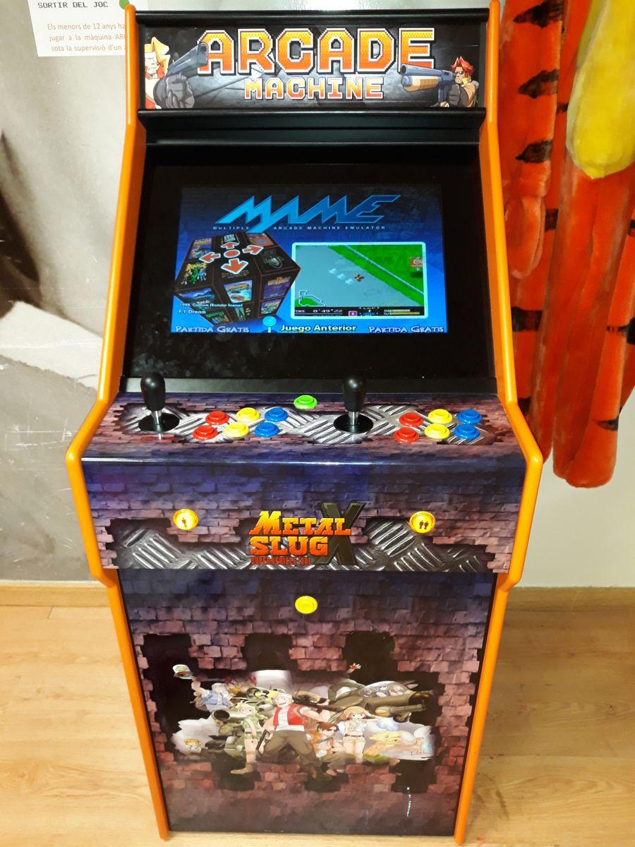 Máquina de videojuegos Arcade
