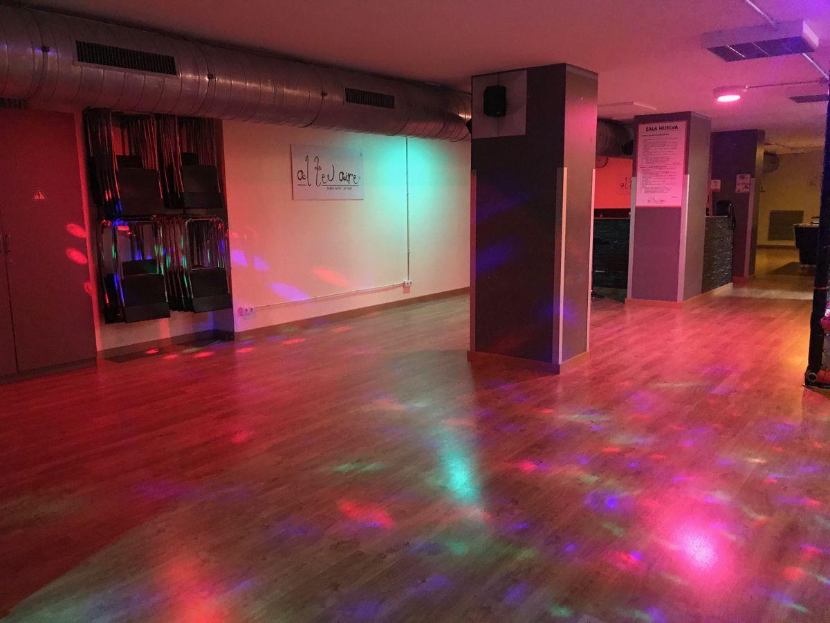 sala per a festes de nit a Barcelona